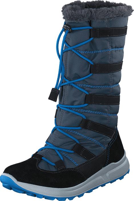 Superfit Merida High Boot Gore-Tex Stone Combi, Kengät, Saappaat ja saapikkaat, Lämminvuoriset talvisaappaat, Sininen, Unisex, 34