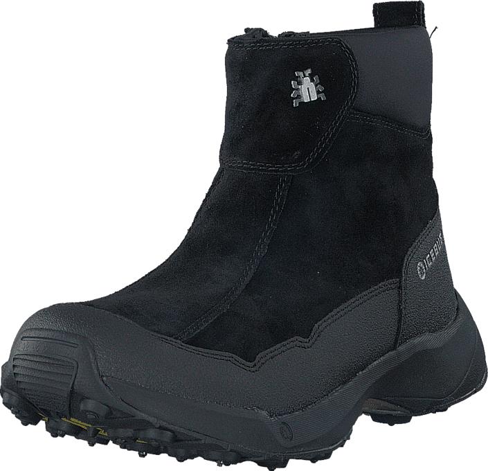 Icebug Metro2 W BUGrip Black, Kengät, Bootsit, Lämminvuoriset kengät, Harmaa, Musta, Naiset, 38