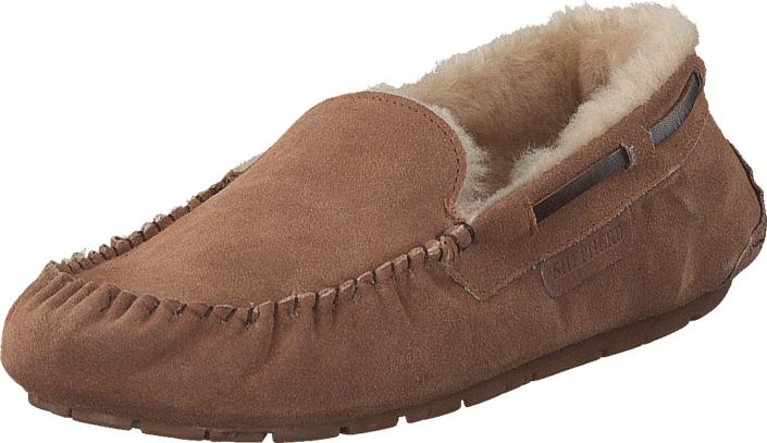 Shepherd Steffo Chestnut, Kengät, Matalapohjaiset kengät, Loaferit, Ruskea, Miehet, 44
