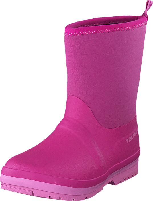 Tretorn Kuling Neoprene Pink, Kengät, Saappaat ja saapikkaat, Kumisaappaat, Vaaleanpunainen, Unisex, 26