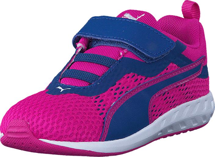 Puma Flare 2 V Inf 004 Pink, Kengät, Sneakerit ja urheilukengät, Sneakerit, Sininen, Vaaleanpunainen, Unisex, 20