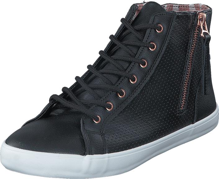 Duffy 73-04746 Black, Kengät, Sneakerit ja urheilukengät, Korkeavartiset tennarit, Harmaa, Unisex, 36