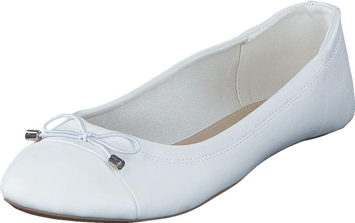 Duffy 92-26437 White, Kengät, Matalapohjaiset kengät, Ballerinat, Valkoinen, Naiset, 37
