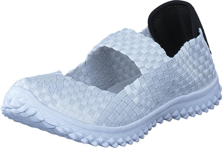 Duffy 68-51898 White, Kengät, Matalapohjaiset kengät, Maryjane-kengät, Valkoinen, Naiset, 42