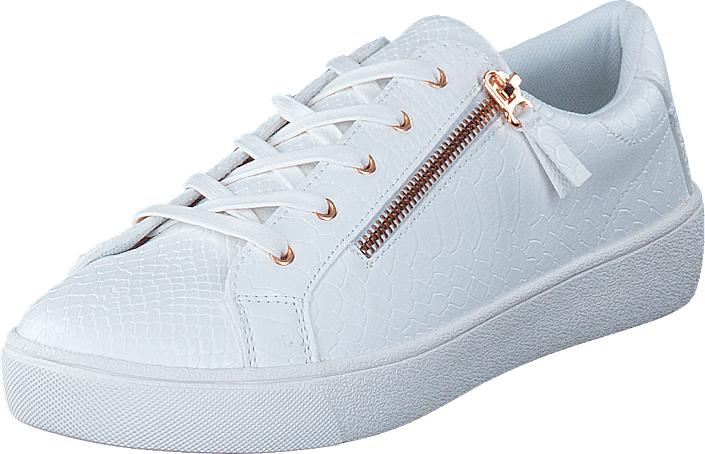 Duffy 73-41231 White, Kengät, Matalapohjaiset kengät, Kävelykengät, Valkoinen, Naiset, 38