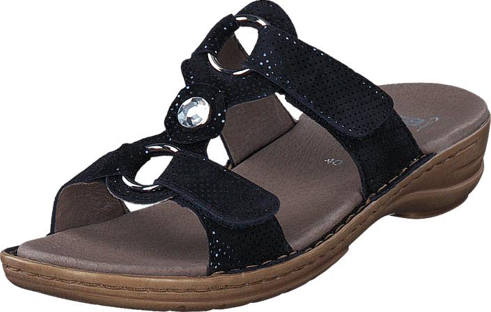 Ara Hawaii Midnight Blue, Kengät, Sandaalit ja tohvelit, Sandaalit, Ruskea, Naiset, 36