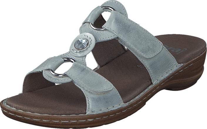 Ara Hawaii Silver/White, Kengät, Sandaalit ja tohvelit, Sandaalit, Ruskea, Naiset, 36