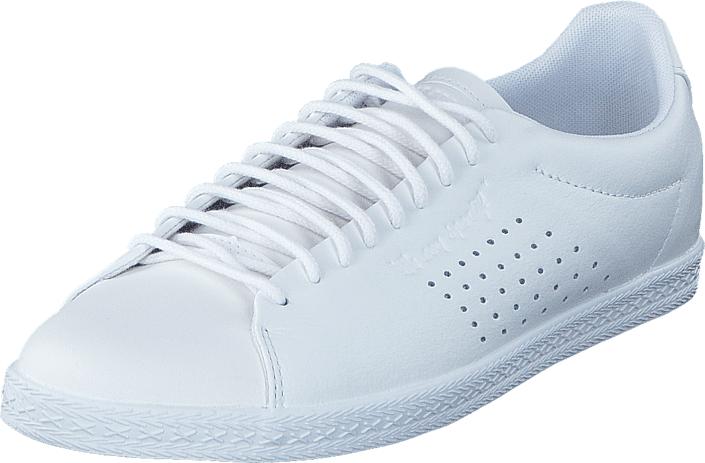 Le Coq Sportif Charline Optical White, Kengät, Sneakerit ja urheilukengät, Varrettomat tennarit, Valkoinen, Naiset, 37