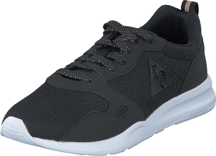 Le Coq Sportif Lcs R600 Black, Kengät, Sneakerit ja urheilukengät, Sneakerit, Harmaa, Naiset, 36
