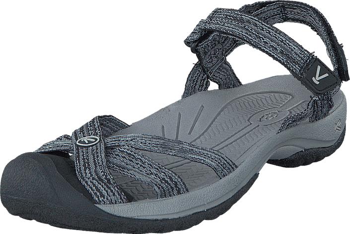 Keen Bali Strap Neutral Gray/Black, Kengät, Sandaalit ja tohvelit, Sporttisandaalit, Harmaa, Naiset, 40