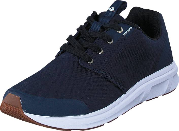 Quiksilver Voyage Textile Blue/Black/White, Kengät, Sneakerit ja urheilukengät, Sneakerit, Musta, Miehet, 39