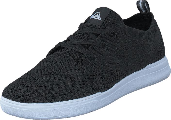 Quiksilver Shorebreak Stretch Knit Black/White, Kengät, Sneakerit ja urheilukengät, Sneakerit, Harmaa, Musta, Miehet, 40