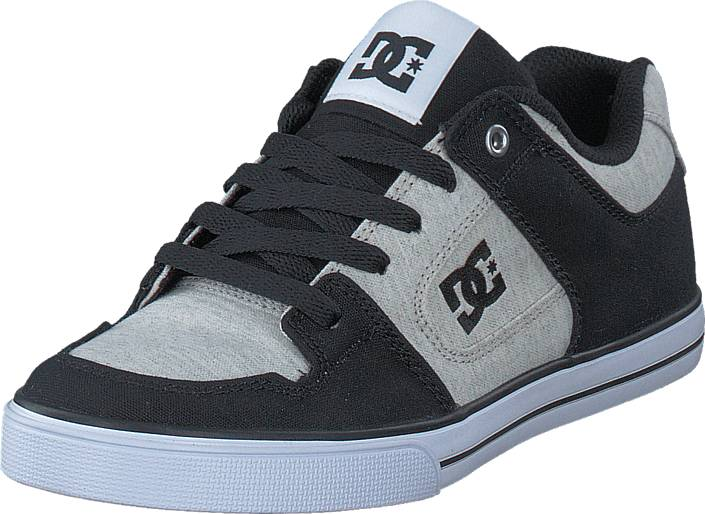 DC Shoes Pure Tx SE Black/White/Black, Kengät, Sneakerit ja urheilukengät, Varrettomat tennarit, Musta, Unisex, 27