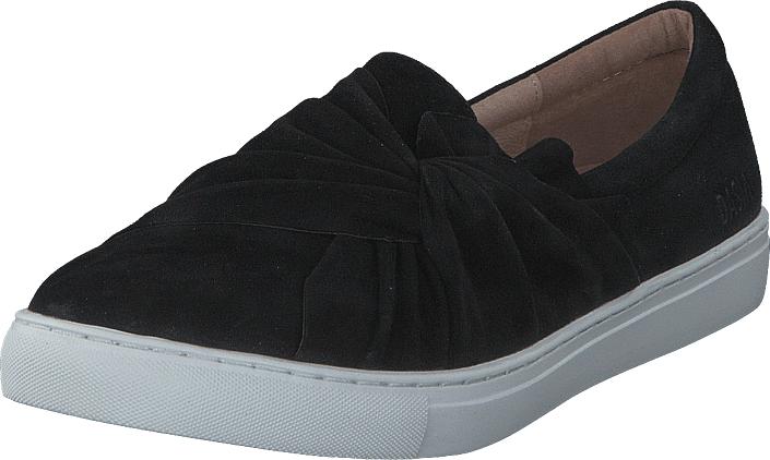 Dasia Daylily Slip-in bow Black, Kengät, Matalapohjaiset kengät, Slip on, Musta, Naiset, 35
