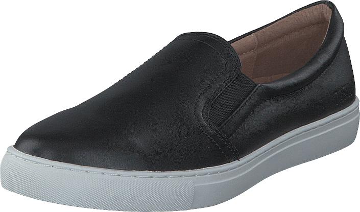Dasia Daylily Slip-in Black, Kengät, Matalapohjaiset kengät, Slip on, Harmaa, Naiset, 40