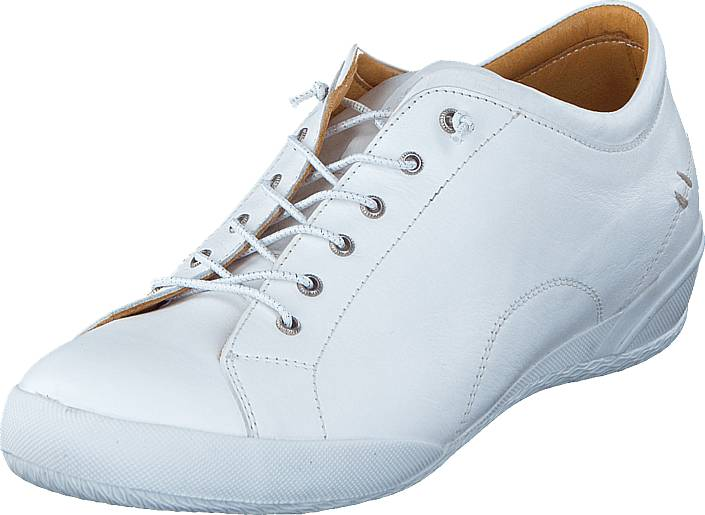 Dasia Lantana Wedge White, Kengät, Matalapohjaiset kengät, Kävelykengät, Valkoinen, Naiset, 39