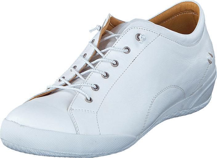 Dasia Lantana Wedge White, Kengät, Matalapohjaiset kengät, Kävelykengät, Valkoinen, Naiset, 38