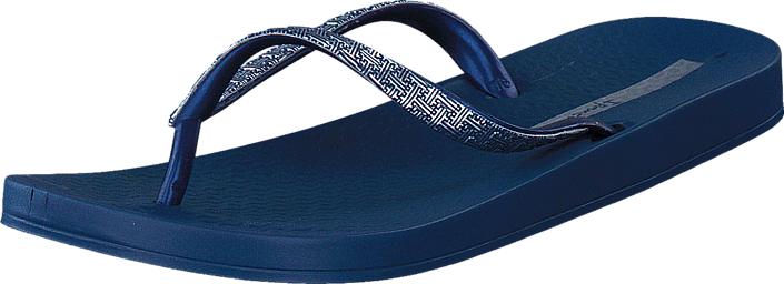 Ipanema Mesh II 22117 Blue/ Blue, Kengät, Sandaalit ja tohvelit, Flip Flopit, Sininen, Naiset, 35