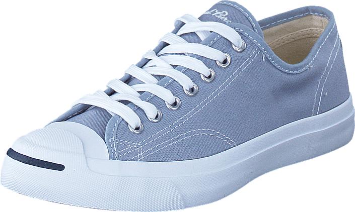 Converse Jack Purcell Canvas Blue Granite, Kengät, Sneakerit ja urheilukengät, Varrettomat tennarit, Violetti, Miehet, 39