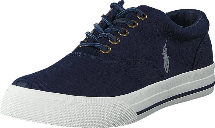 Polo Ralph Lauren Vaughn Newport Navy, Kengät, Sneakerit ja urheilukengät, Varrettomat tennarit, Sininen, Miehet, 40