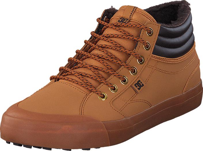 DC Shoes Evan Smith Hi WNT Wheat, Kengät, Sneakerit ja urheilukengät, Chukka Sneakerit, Violetti, Oranssi, Miehet, 39