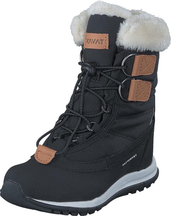 Kavat Idre WP Black, Kengät, Bootsit, Lämminvuoriset kengät, Musta, Unisex, 28