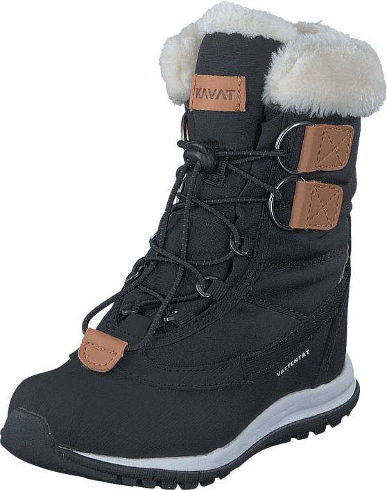 Kavat Idre WP Black, Kengät, Bootsit, Lämminvuoriset kengät, Musta, Unisex, 30