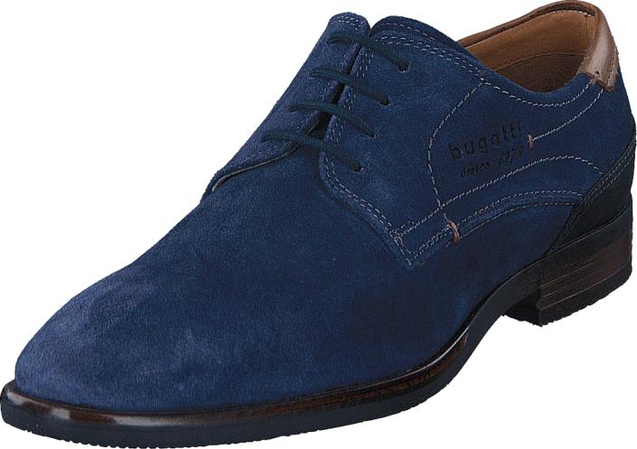 Bugatti 1916701s Dark Blue, Kengät, Matalapohjaiset kengät, Juhlakengät, Sininen, Miehet, 40