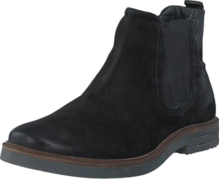 Bugatti 1937831 Black, Kengät, Bootsit, Chukka boots, Musta, Miehet, 40