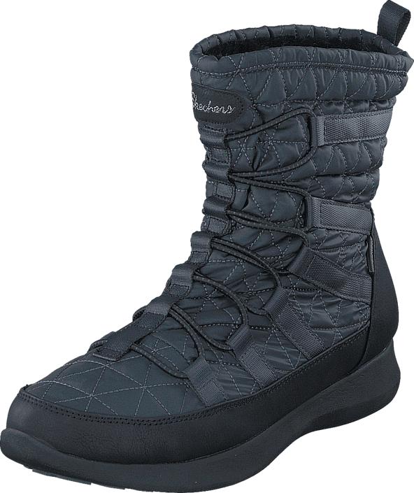Skechers 49806 CCBK, Kengät, Bootsit, Korkeavartiset bootsit, Harmaa, Sininen, Naiset, 36