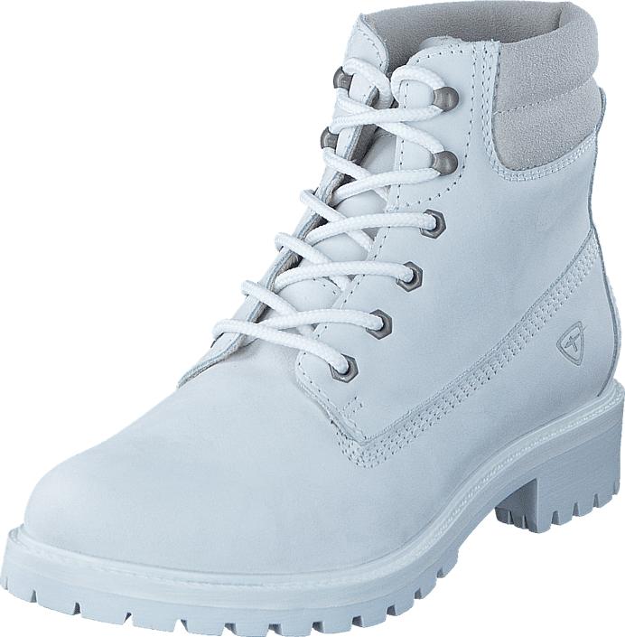 Tamaris 1-1-25242-29 122 White Uni, Kengät, Bootsit, Kengät, Valkoinen, Naiset, 36