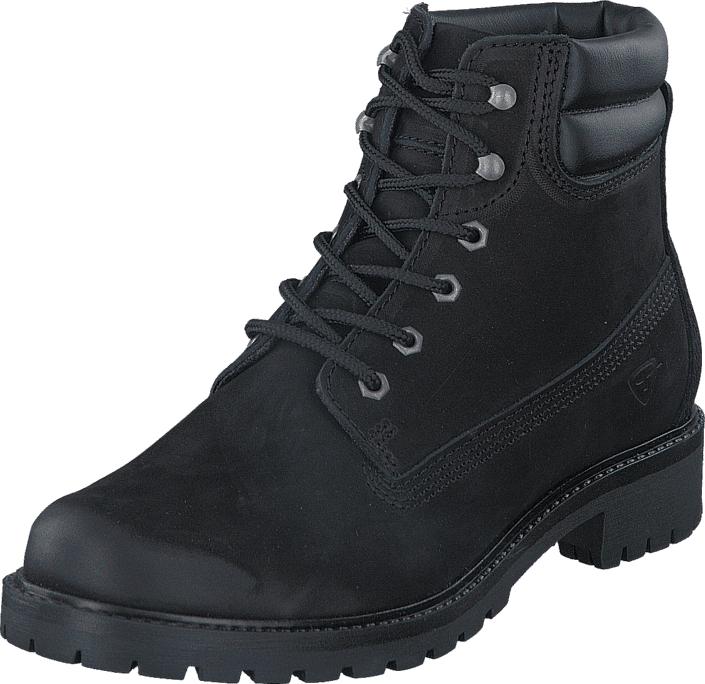 Tamaris 1-1-25242-29 007 Black Uni, Kengät, Bootsit, Kengät, Musta, Naiset, 40