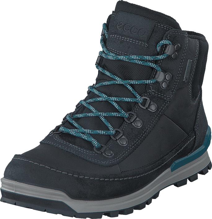 Ecco 826004 Oregon Black/Black, Kengät, Bootsit, Vaelluskengät, Musta, Miehet, 42