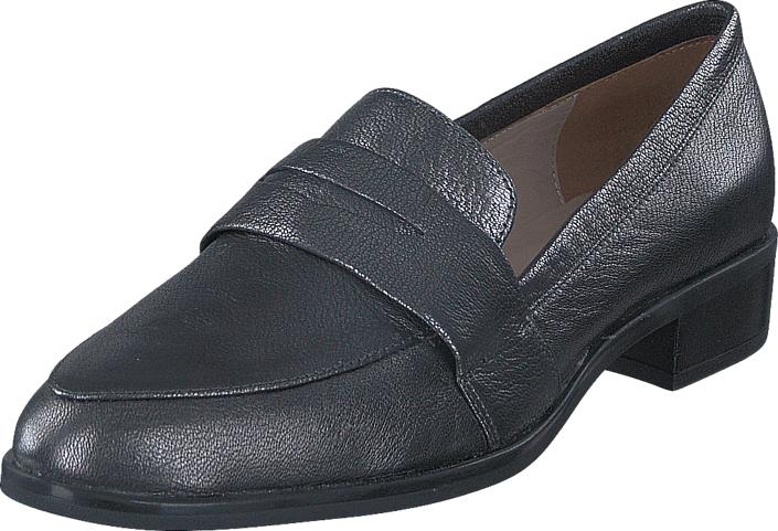 Unisa Baceno_F17_Cmt Black, Kengät, Matalapohjaiset kengät, Loaferit, Violetti, Naiset, 36