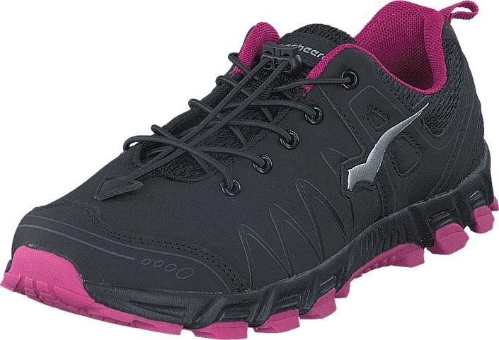 Bagheera Atom XL Black/Cerise, Kengät, Sneakerit ja urheilukengät, Urheilukengät, Harmaa, Unisex, 34