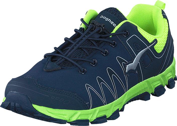 Bagheera Atom XL Navy/Lime, Kengät, Sneakerit ja urheilukengät, Urheilukengät, Sininen, Unisex, 34