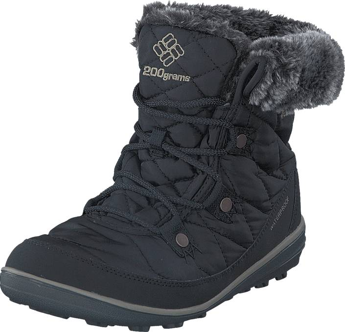 Columbia Heavenly Shorty Omni-Heat Black Kettle, Kengät, Bootsit, Lämminvuoriset kengät, Musta, Naiset, 36