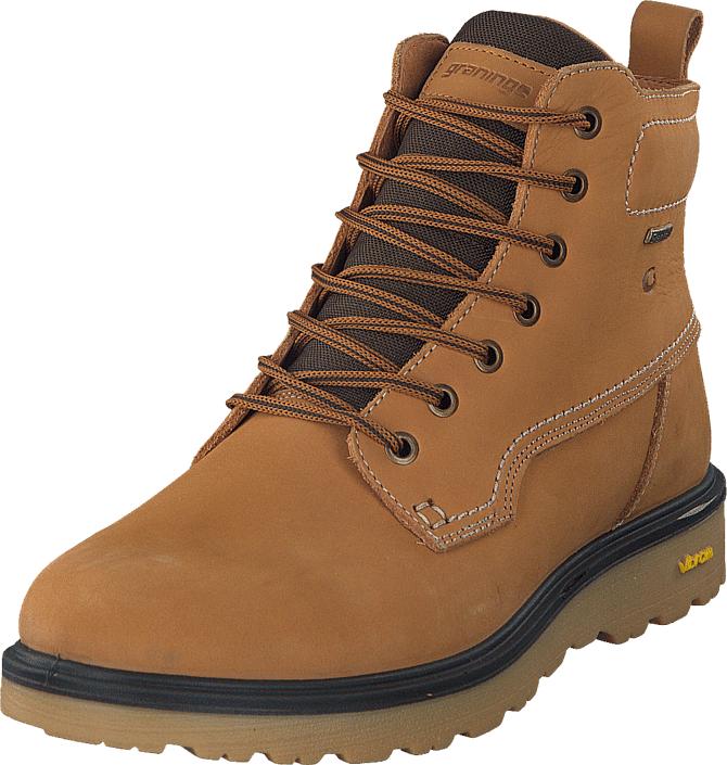 Graninge 5640203 Yellow Yellow, Kengät, Bootsit, Kengät, Ruskea, Unisex, 45
