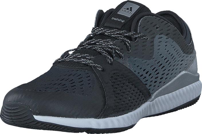 adidas Sport Performance Crazytrain Pro W Core Black/Silver Met./Core Bl, Kengät, Sneakerit ja urheilukengät, Sneakerit, Harmaa, Naiset, 40