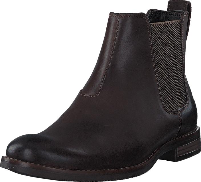 Rockport Wynstin Chelsea Dark Bitter Chocolate, Kengät, Bootsit, Chelsea boots, Ruskea, Miehet, 40