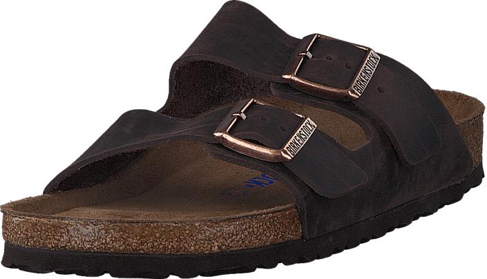 Birkenstock Arizona Regular Soft Habana Brown, Kengät, Sandaalit ja tohvelit, Sandaalit, Ruskea, Unisex, 40