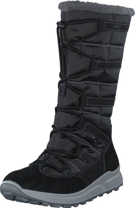 Superfit Merida GORE-TEX® Black, Kengät, Saappaat ja saapikkaat, Lämminvuoriset talvisaappaat, Musta, Unisex, 40