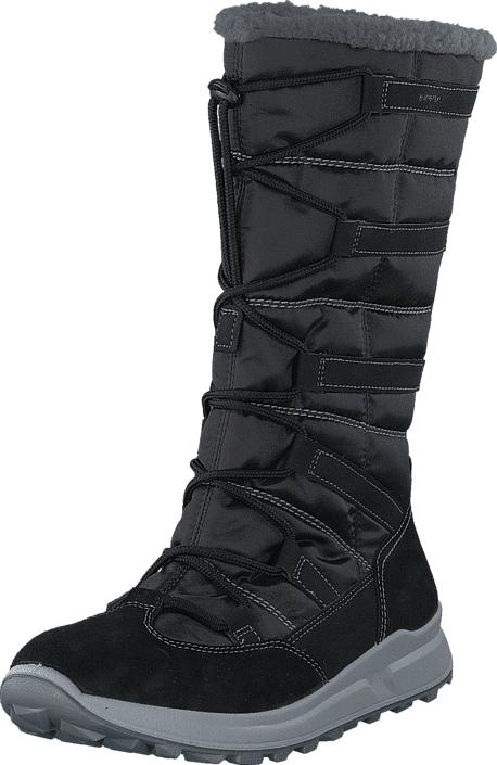 Superfit Merida GORE-TEX® Black, Kengät, Saappaat ja saapikkaat, Lämminvuoriset talvisaappaat, Musta, Unisex, 32
