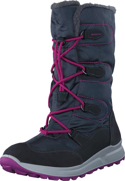 Superfit Merida GORE-TEX® Charcoal Combi, Kengät, Bootsit, Lämminvuoriset kengät, Sininen, Unisex, 32