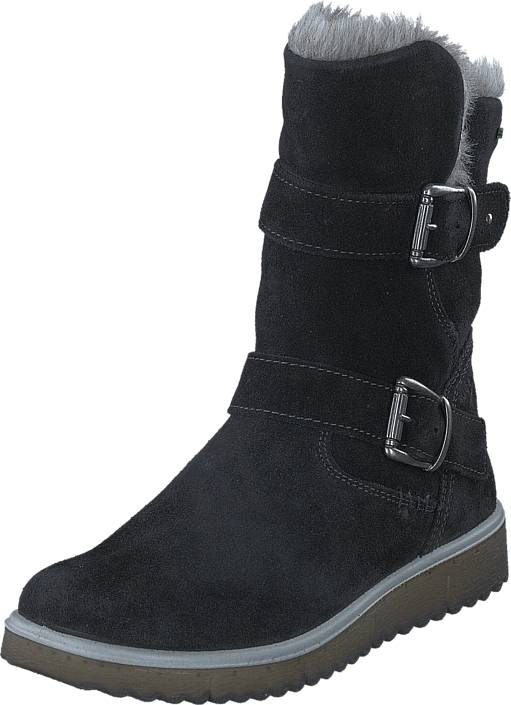 Superfit Lora GORE-TEX® Black Combi, Kengät, Bootsit, Lämminvuoriset kengät, Musta, Unisex, 39