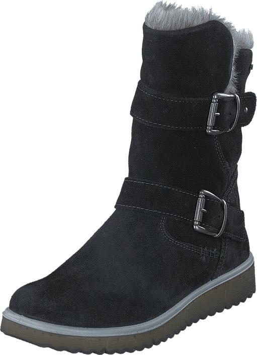 Superfit Lora GORE-TEX® Black Combi, Kengät, Bootsit, Lämminvuoriset kengät, Musta, Unisex, 36