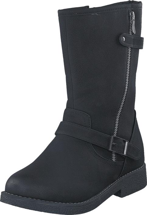 Duffy 75-55442 Black, Kengät, Bootsit, Lämminvuoriset kengät, Musta, Naiset, 39