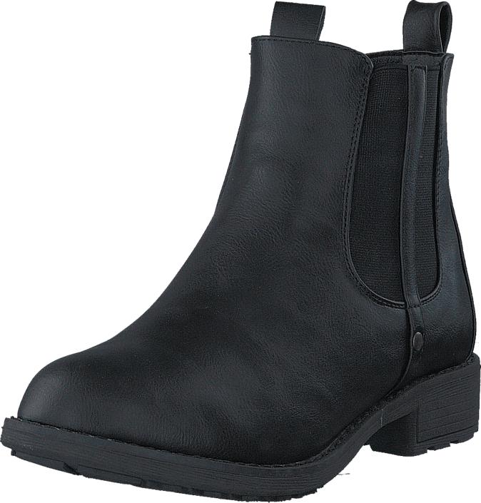 Duffy 86-22006 Black, Kengät, Bootsit, Chelsea boots, Musta, Naiset, 37