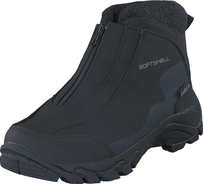 Polecat 430-5985 Waterproof Warm Lined Black, Kengät, Bootsit, Lämminvuoriset kengät, Musta, Unisex, 45