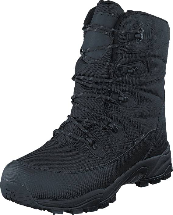 Polecat 430-0199 Waterproof Warm Lined Black ICE-Tech Studs, Kengät, Bootsit, Lämminvuoriset kengät, Musta, Unisex, 42